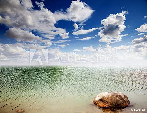 druck-shop24 Wunschmotiv: Paisaje Con agua y Cielo #31114755 - Bild hinter Acrylglas - 3:2-60 x 40 cm / 40 x 60 cm