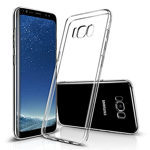 Samsung S8 Case, ESR Ultra Thin Transparent Clear Soft Gel TPU Silicone Case Cover for Samsung S8 (2017) (Jelly Clear)