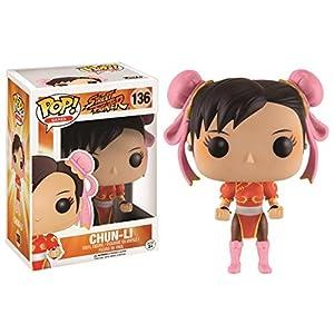 Funko Pop Chun-Li con traje rojo (Street Fighter 136) Funko Pop Street Fighter
