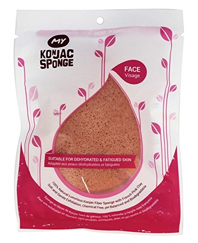 100-natural-premium-konjac-facial-sponge-puff-french-pink-clay-suitable-for-dry-dehydrated-fatigued-