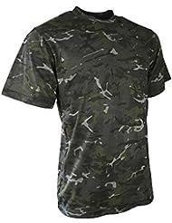 Kombat BTP Night Camo T-Shirt Airsoft Camouflage Army Military Style