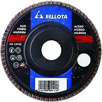 Bellota 50501-60 - Disco de láminas, desbaste metal corindón A 60 (base de poliamida, 115 mm)