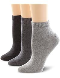 s.Oliver Unisex Socken Quarter / 3er Pack