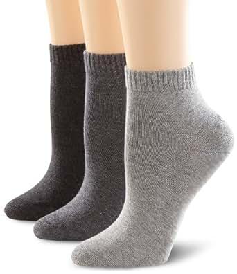 s.Oliver Unisex - Erwachsene Socken 3-er Pack, S21001, Gr. 35-38, Grau (08 anthracite)