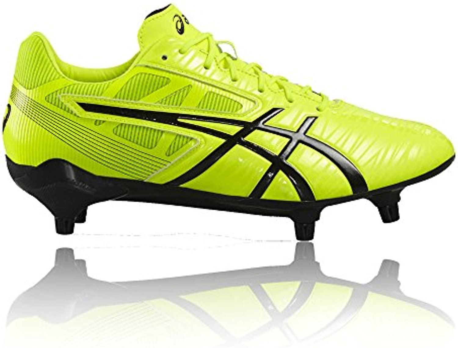 Gel-Lethal Speed Rugby Boots - Safety Yellow