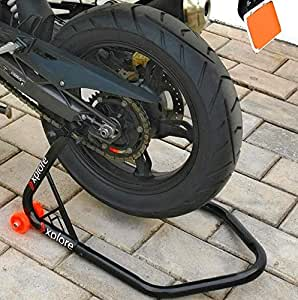 explore universal paddock stand with swingarm lift only (single piece)