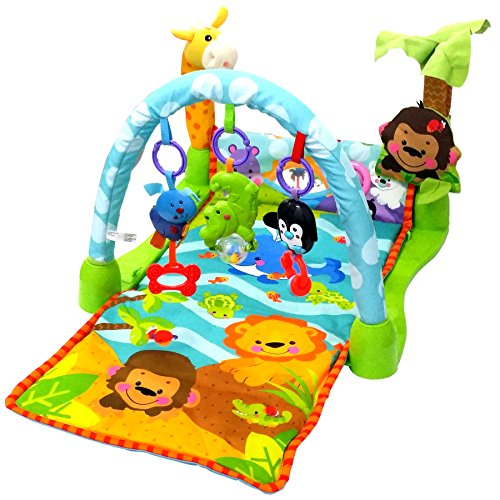 Magicwand Kick & Play Rain Forest Baby Gym & Fitness Rack