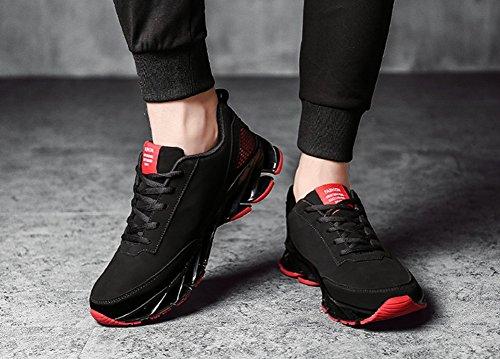 Uomini Traspirante Scarpe Da Corsa 2017 Autunno Nuove Scarpe Da Ginnastica Studenti Scarpe Da Ginnastica Scarpe Fitness Red