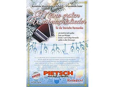 Knöpferl Musikverlag, Meine ersten Weihnachtslieder, auf der Steirischen Harmonika mit. CD