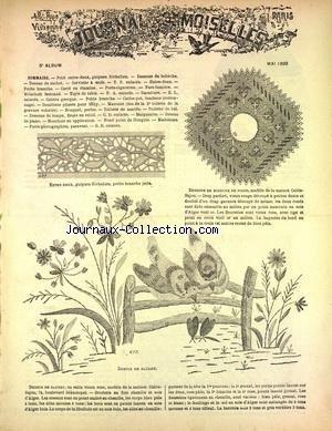 JOURNAL DES DEMOISELLES PARIS [No 5] du 01/05/1890