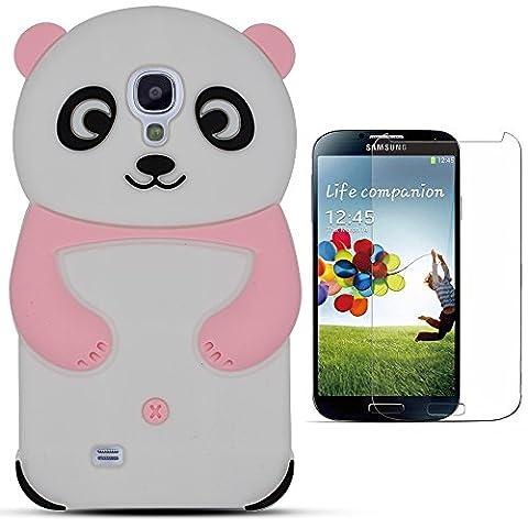 Hcheg 3D Silikon Schutzhülle Tasche für Samsung Galaxy S4 Hülle