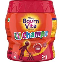 Bournvita Little Champs Pro-Health Chocolate Drink, 500 gm Jar