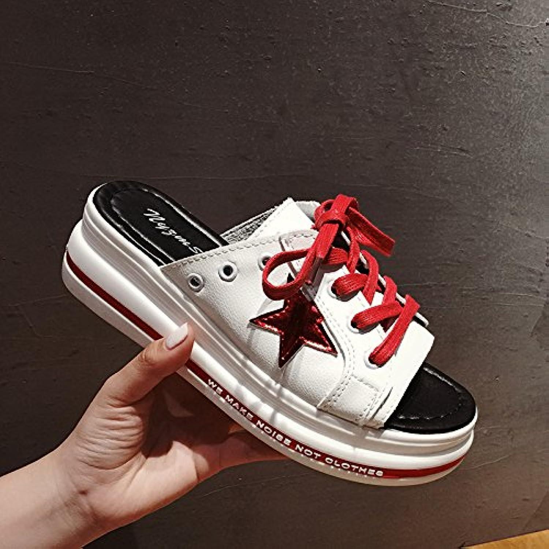 sohoeos bout ouvert l'été ulzznag ulzznag ulzznag mode femme féminine été des chaussures de sports de plein air à fond épais roFemme décontracté...b07d5yjgc3 parent | La Qualité  365b83