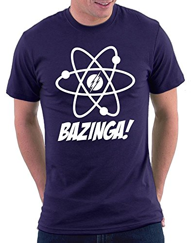 The Big Bang Theory Atomic T-shirt Navy