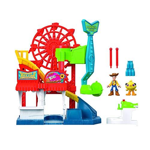 Disney- Pixar Toy Story 4 Star Adventurer Playset, Accessori Compatibili con Mini Personaggi Imaginext, per Bambini da 3+ Anni, Multicolore, GBG66
