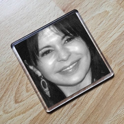 Seasons MARIA CONCHITA ALONSO - Original Art Coaster #js002