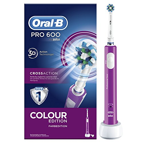 Oral-B 612229 Pro 600 Cross Action purple