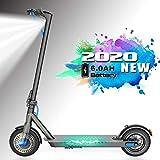 Trottinette électrique de 8,5 '' Pliable, Puissance 250W Vitesse Maximale de 25 km/h, Charge maximale 120 kg, Trottinette de Ville...