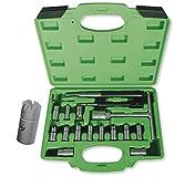 JBM 52813 - Pack de 17 piezas escariador inyectores en estuche