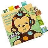 TMEOG Libro di panno morbido,Libro animale bello del panno del gufo degli animali Giocattolo del bambino Libri di sviluppo del panno