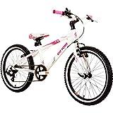 Stargazer Rigid 20 Zoll Mädchenfahrrad Fahrrad Mädchen weiß ab ca. 6 Jahre