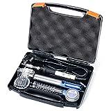 DIY Tool Kit für den YIHUA 947-III 60 Watt-Lötkolben mit einstellbarer Temperatur und Ein- / Aus-Schalter sowie Arbeitslicht (Perlweiß)Dieses Gerät wurde von einem ISO-9001-2008-zertifizierten Hersteller mit 17-jähriger Erfahrung mit Lötwerkz...
