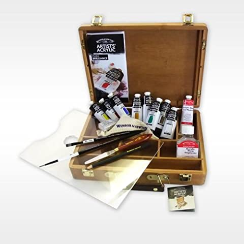 Winsor & Newton Artists' Acrylic 60ml Tube Bamboo Boxset