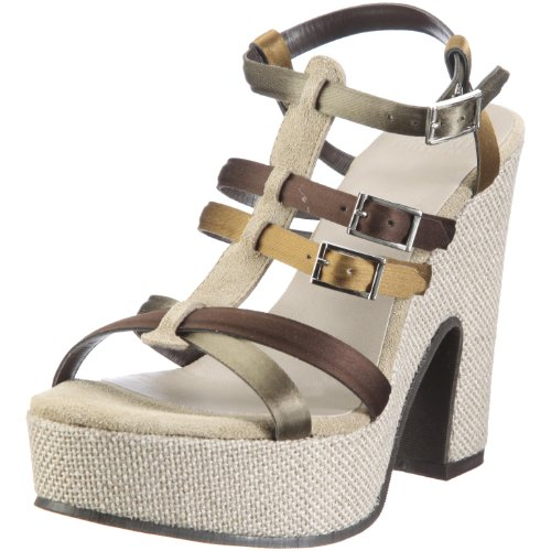 ESPRIT Collection CARLA SANDAL Q14530 Damen Sandalen/Fashion-Sandalen Grün/Khaki