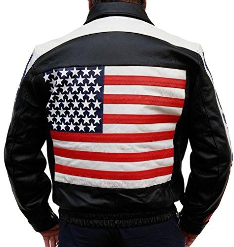 Finden Sie Hohe Qualität Usa Flag Lederjacke Hersteller und