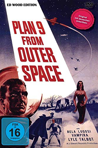Plan 9 From Outer Space - ED WOOD -