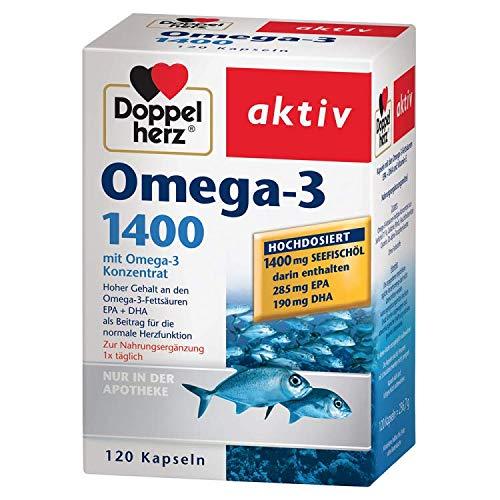 Doppelherz Omega-3 1.400 120 stk