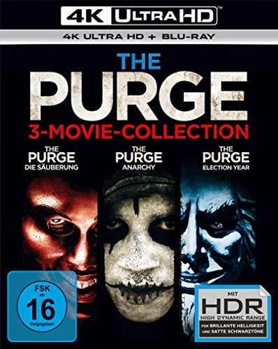 The Purge - Trilogy (3 4K Ultra HD) (+ 3 Blu-ray 2D)
