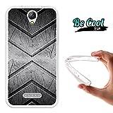 Becool® Fun - Flexible Gel Schutzhülle für Doogee X6 -