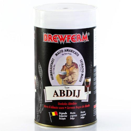 Brewferm 1,5kg Klosterbier dunkel - Bierkit zum Bier brauen - 9 Liter