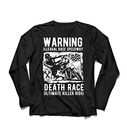 552d5cfb058ce5 lepni.me Langarm Herren t Shirts Todesrennen - Ultimative Killerfahrt,  Motorradrennen, Klassiker,