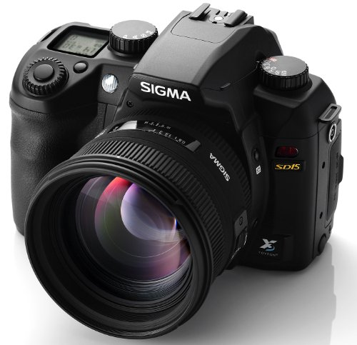 Sigma SD15 SLR-Digitalkamera (14 Megapixel, 7,6 cm Display, SD Kartenslots) schwarz - 5