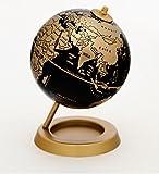 #10: 11.5cm Desktop World Globe (Golden)
