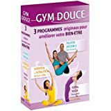 Gym douce (Coffret 3 DVD) :yoga fondamental ; pilates 7 ; stretch et votalite