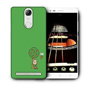 Snoogg Gravity Humor Designer Protective Phone Back Case Cover For Lenovo Vibe K5 Note