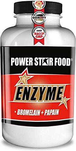 Preisvergleich Produktbild ENZYM KOMPLEX hochdosiert mit BROMELAIN & PAPAIN - Rohstoffe in geprüfter Arzneibuch- / Pharmaqualität - Dose à 100 Kapseln - Premiumqualität made in Germany