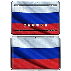 """Samsung Galaxy Tab 2 10.1 Designfolie """"Russland Flagge"""" Skin Aufkleber für Galaxy Tab 2 10.1"""