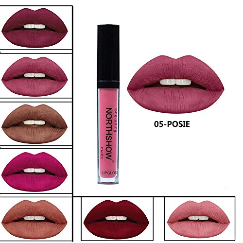 Pintalabios Mate Larga Duracion Labial de Maquillaje Profesional 24 Colores para Niñas por ESAILQ