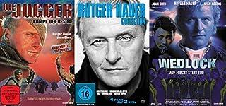 6er Rutger Hauer Collection – Die Jugger + Nighthawks + Moving McAllister + Ruf der Wildnis + Omega Doom + Wedlock DVD Limited