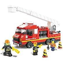 camion pompier sirene. Black Bedroom Furniture Sets. Home Design Ideas