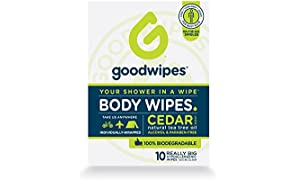Goodwipes Deodorising body wipes for Men 10ct