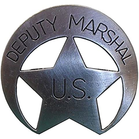US vicesceriffo US Marshal stella Denix stella da sceriffo