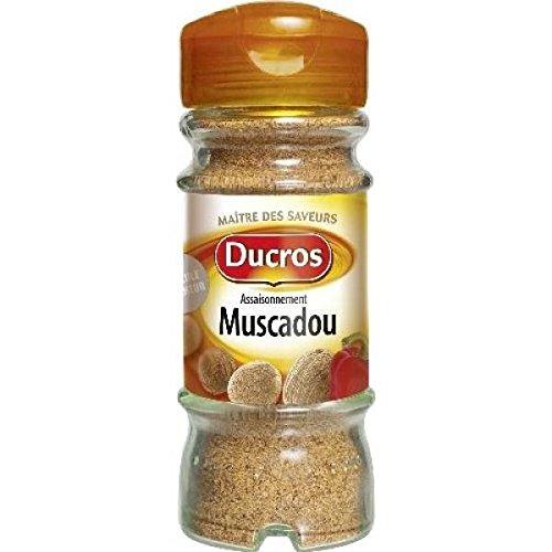Ducros flacon duc muscadou 35g - ( Prix Unitaire ) - Envoi Rapide Et Soignée
