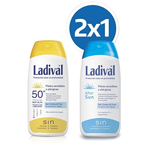 LADIVAL Protector Solar FPS 50 200ML + Aftersun 200ML