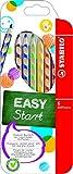 Ergonomischer Buntstift für Linkshänder - STABILO EASYcolors - 6er Pack - mit 6 verschiedenen Farben