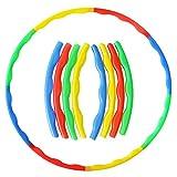 Akokie Hula Ring Hoop Reifen für Kinder 3 4 5 Anfänger, Durchmesser 75 cm, Fitness Gymnastikreifen Turnen Outdoor Sport